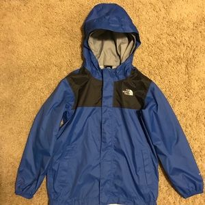 Boys North Face water repellent windbreaker